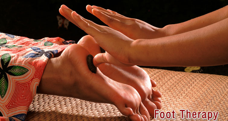 Foot Therapy Massage